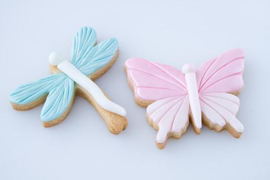 Fondant cookies