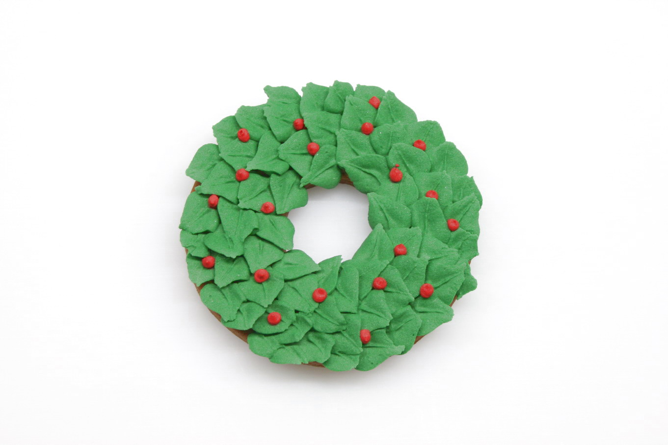how to make a christmas wreath cookie u2022 cakejournal com