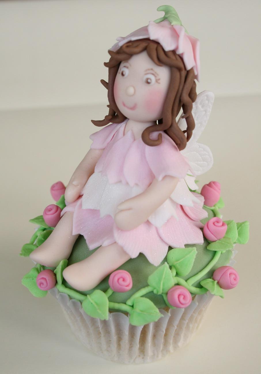 Fairy cupcake topper