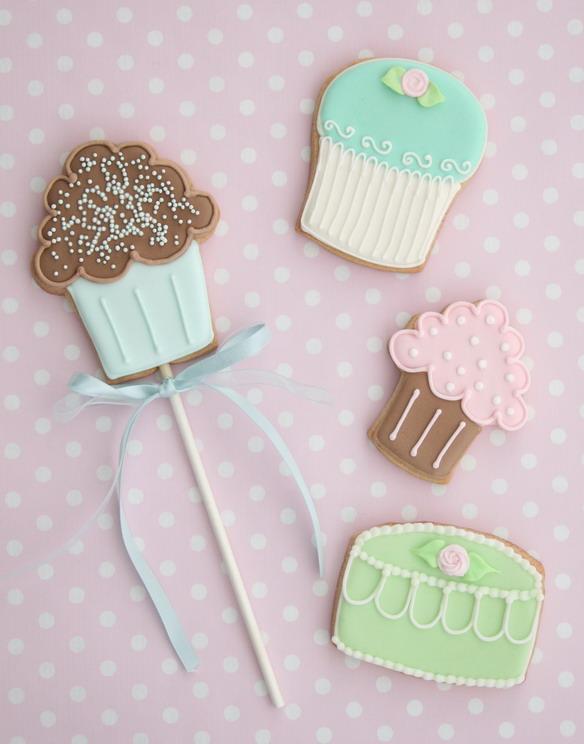 Sweet cookie template