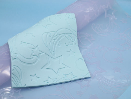 Wilton imprints mat star