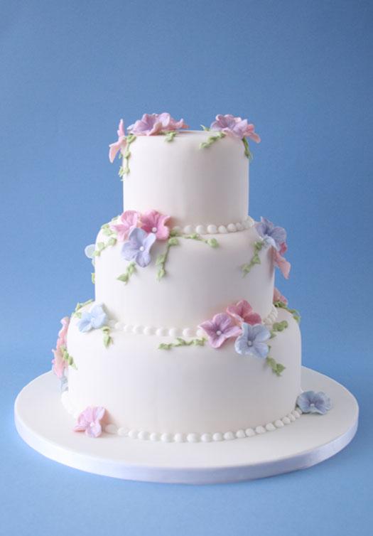 Hydrangea cake 1