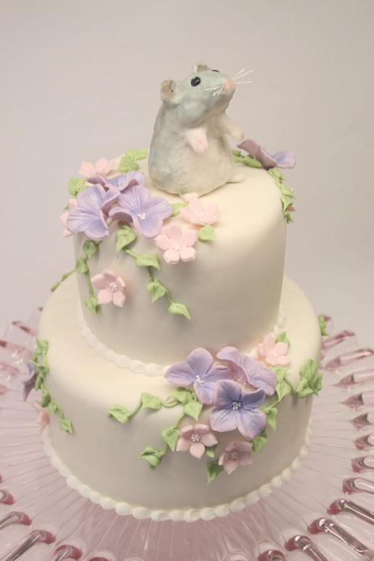 Viola cake 1