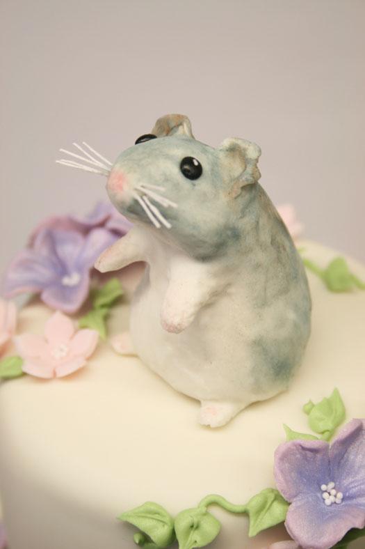 Viola cake