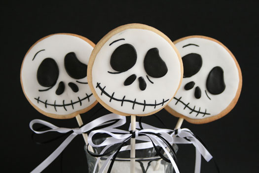 Halloween Jack cookie lollys