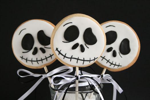 Halloween Jack cookie lollys