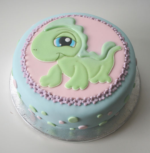 Littlest Pet Shop Lizard birthday cake