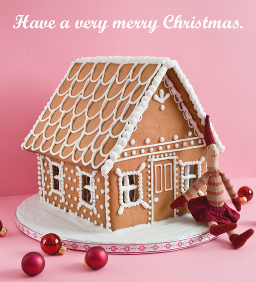 My Gingerbread house 2009 | CakeJournal | How to make beautiful ...