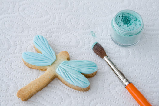 brush - How To Decorate Cookies