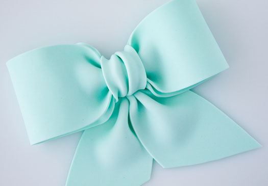 Making Ribbon Bows For Cakes
