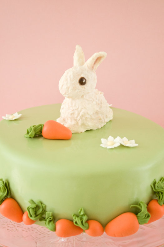 Easter Bunny Chocolate Cake