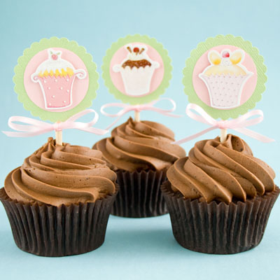 How To Make Cupcake Paper Toppers Cakejournal Com