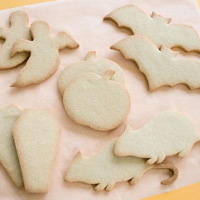 Baked Halloween cookies