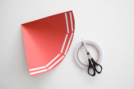 How to make a paper cone picture 3