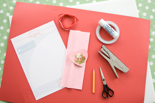 How to make a paper cone materials
