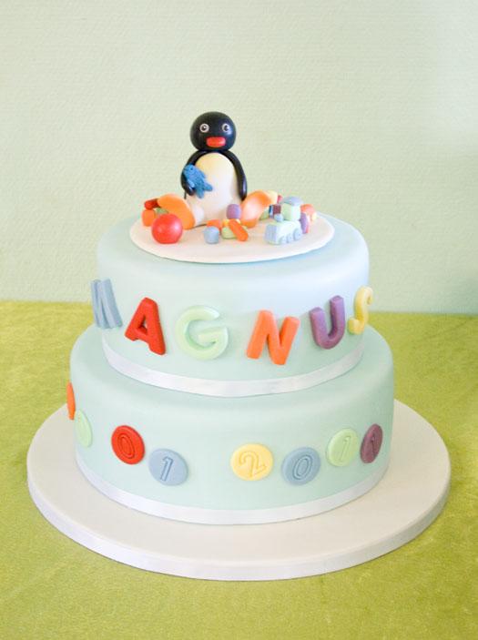 Pingu Cake Decorations