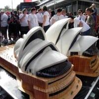 Sydney Opera House Cake 2