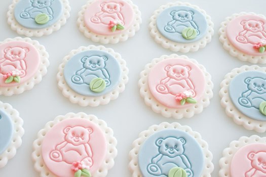 teddy bear cucake toppers