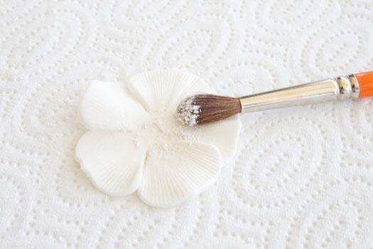 gum paste petal