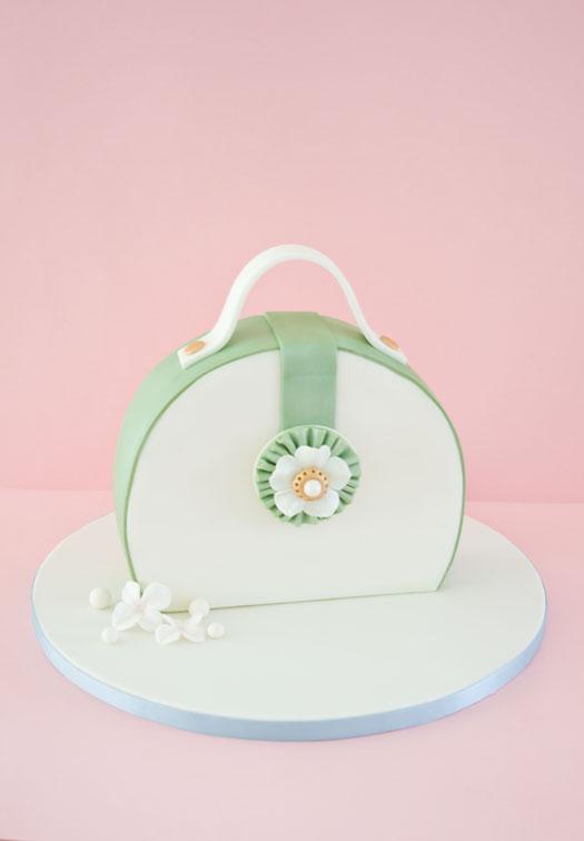 Tutorial How To Make A Purse Cake