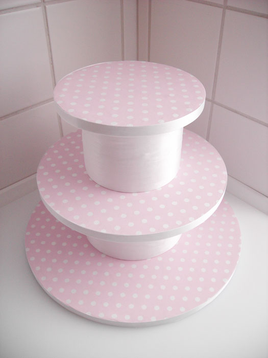 make your own cupcake stand diy project wedding forums
