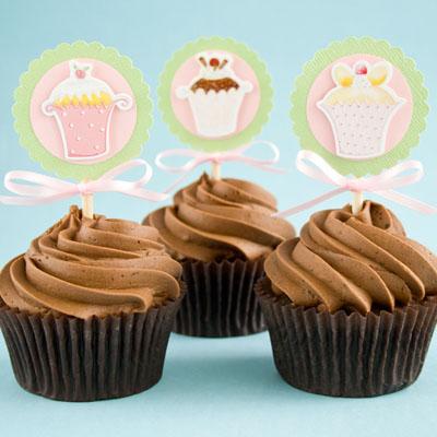 Top 5 crafty cupcake topper ideas & tutorials