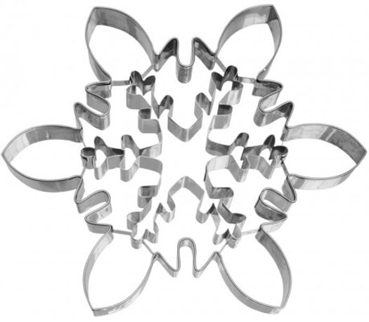 Large snowflake cookie cutter 2