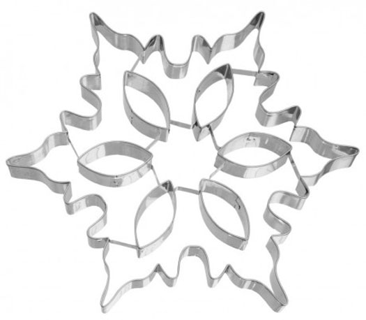 Large snowflake cookie cutter 1