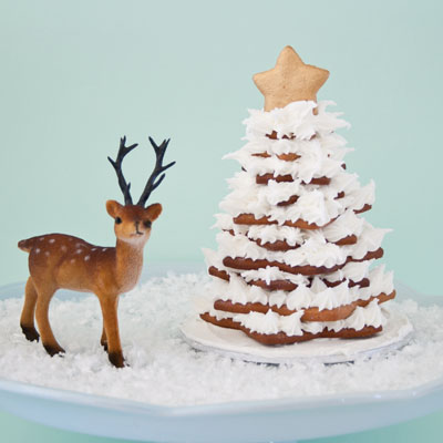How to make a gingerbread Christmas cookie tree