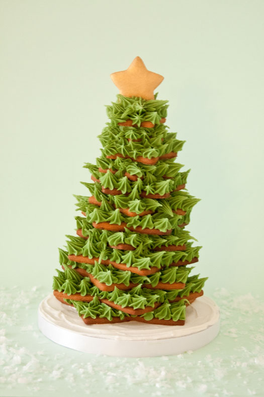 Gingerbread Christmas cookie tree