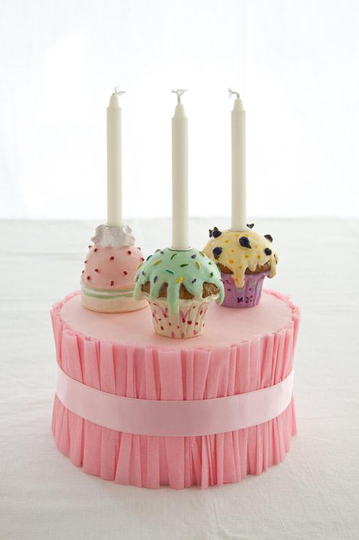 Styrofoam Cake Stand