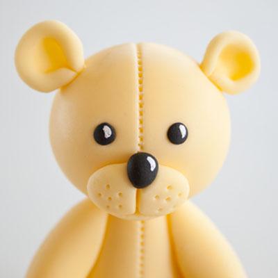 How to make a teddy bear cake topper part 1 • CakeJournal.com