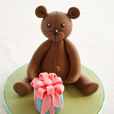 How To Make A Teddy Bear Cake Topper Part