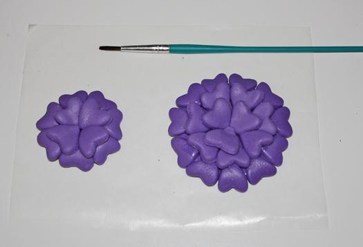 Heart shaped fantasy flowers 5