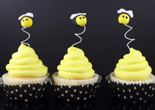 How to Make Fondant Bee Cupcake Toppers