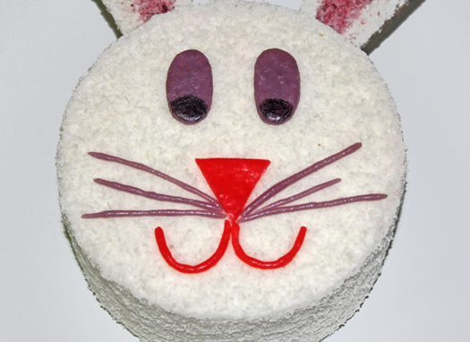how to make a bunny cake 12