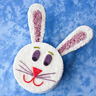 How to Make a Bunny Cake (Easter Cake Recipe)