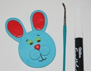 how to make an easter bunny topper 5