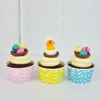 how to make easter eggs nests and chick