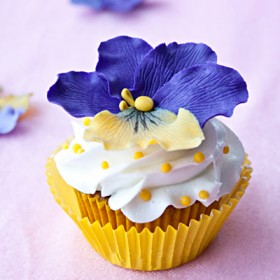 how to make gum paste pansies