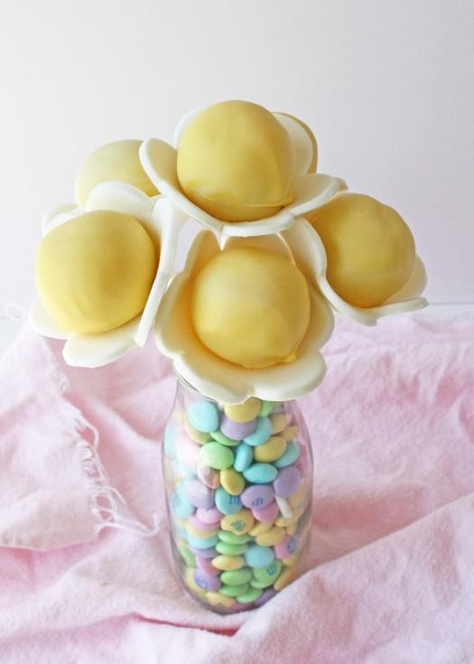 Bouquet of Flower Cake Pops