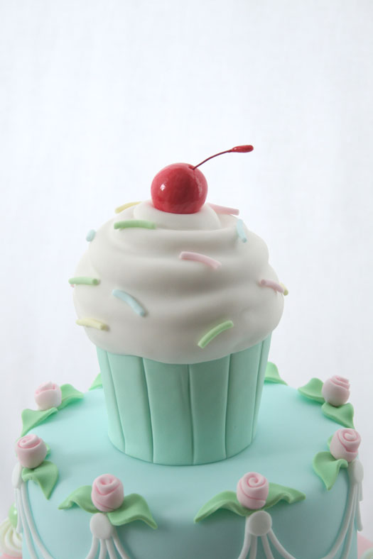 Cupcake cake top