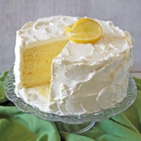 This Lemon Chiffon Layer Cake is a recipe out of a very old cookbook ...