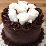 Decadent chocolate ganache cake recipe