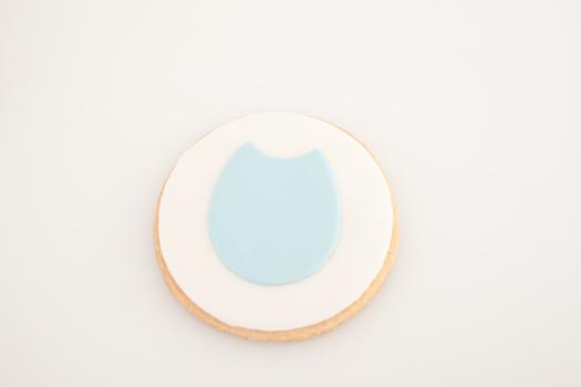 Owl cookie step 3
