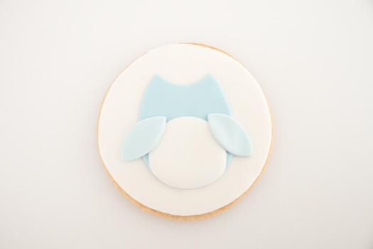 Owl cookie step 6b