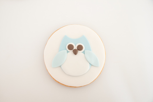 Owl cookie step 7