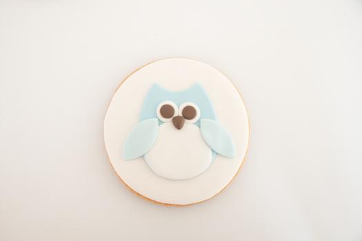 Owl cookie step 7