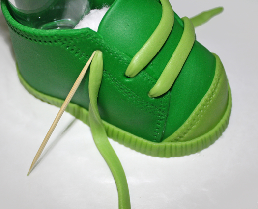 how to make fondant baby shoes 24