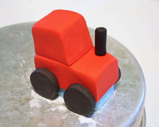 How to Make a Tractor Cake Topper 12